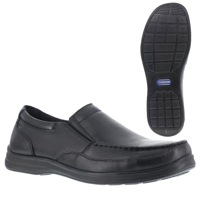 Black Hush Puppies Dress Safety Shoe
